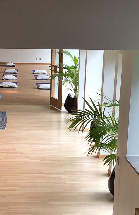 Yogahelg på Skepparholmen den 12-13 oktober. Mediyoga för lugn och glädje.