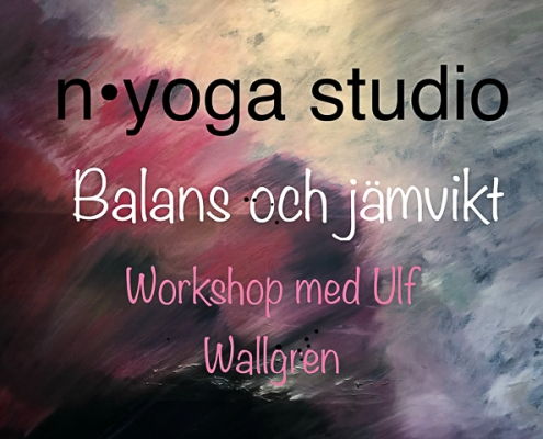 "Workshop ""Balans och jämvikt"" på n yoga studio i Lund"
